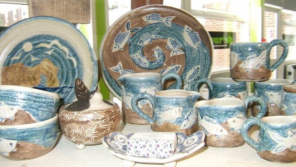 Fiona Kelly Pottery in Dorset